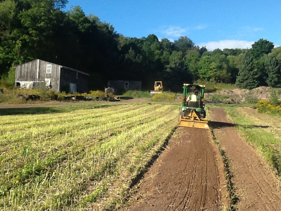 Tractor tilling